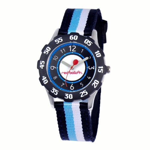 Red Balloon Kids' W000346 Stainless Steel and Nylon Sport - Watch Mlb Steel Stainless