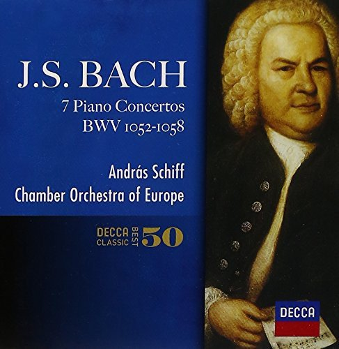 CD : Andras Schiff - J.s.bach: Piano Concertos (Super-High Material CD, Japan - Import)