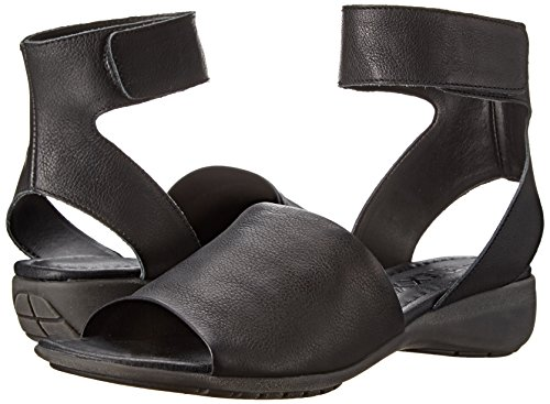 The Flexx Women's Beglad Dress Sandal, BLACK GUANTO, 7.5 M US by The FLEXX (Image #6)