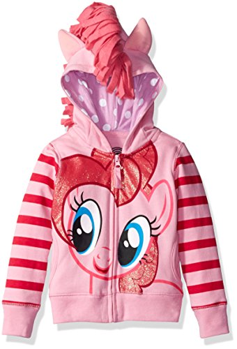 My Little Pony Toddler Girls' Pinky Pie Hoodie ,Pink/Multi,2T -