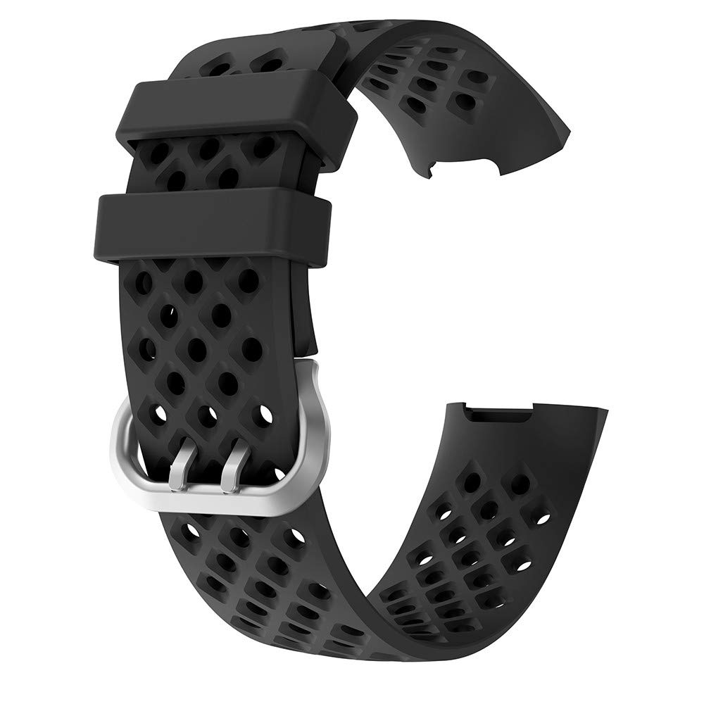 2019 Watch Bands New Fashion Sports Breathable Silicone Bracelet Strap Band for Fitbit Charge 3