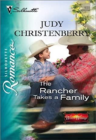 book cover of The Rancher Takes A Family