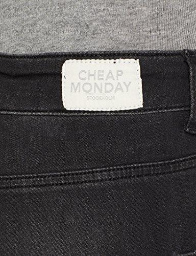 Jeans Spray pistol Black Blu Black Pistol Donna Monday Skinny High Cheap q1xp46x