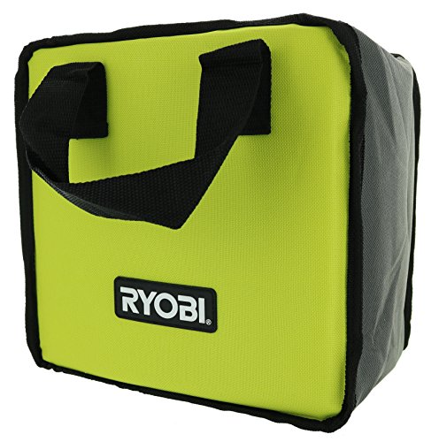 Ryobi Lime Green Genuine OEM Tool Tote Bag (Single Bag) (Tools Not Included) Drill Case