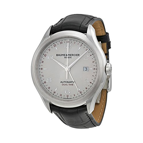 Baume-Mercier-Mens-BMMOA10112-Clifton-Analog-Display-Swiss-Automatic-Black-Watch