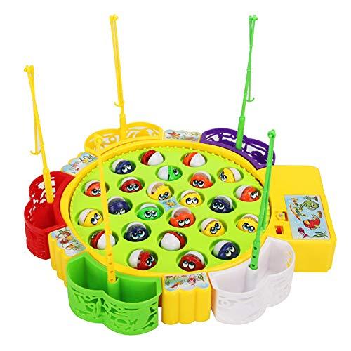 Fashionwu 釣りゲーム 電動 くるくる魚釣り おもちゃ フィッシング 遊び 子供 誕生日 クリスマス プレゼント