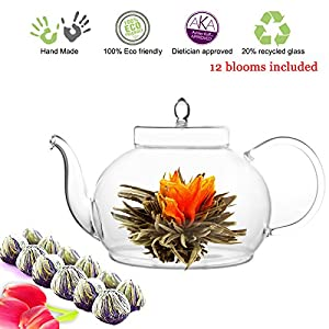 Tea Beyond Glass Teapot and Tea Set 15