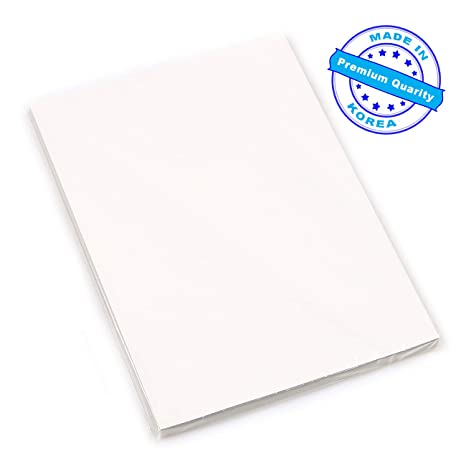 Premium 100 Sheets A4 Dye Sublimation Heat Transfer Paper (ie T-Shirt  Transfers Print Iron on Sheet) for Epson, HP, Canon, Ricoh, SawGrass Inkjet