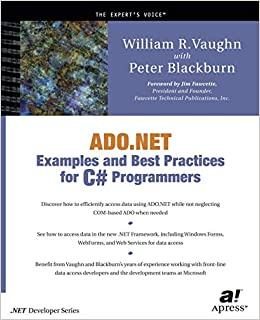 Buy ADO NET Examples and Best Practices for C# Programmers