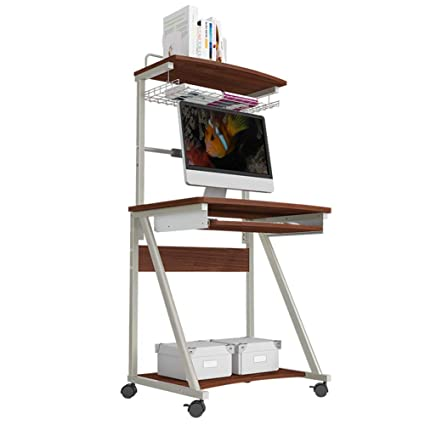 Mini Scrivania Porta Pc.Haipeng Tavolino Porta Pc Tavolo Laptop Mobile Scrivania Portatile