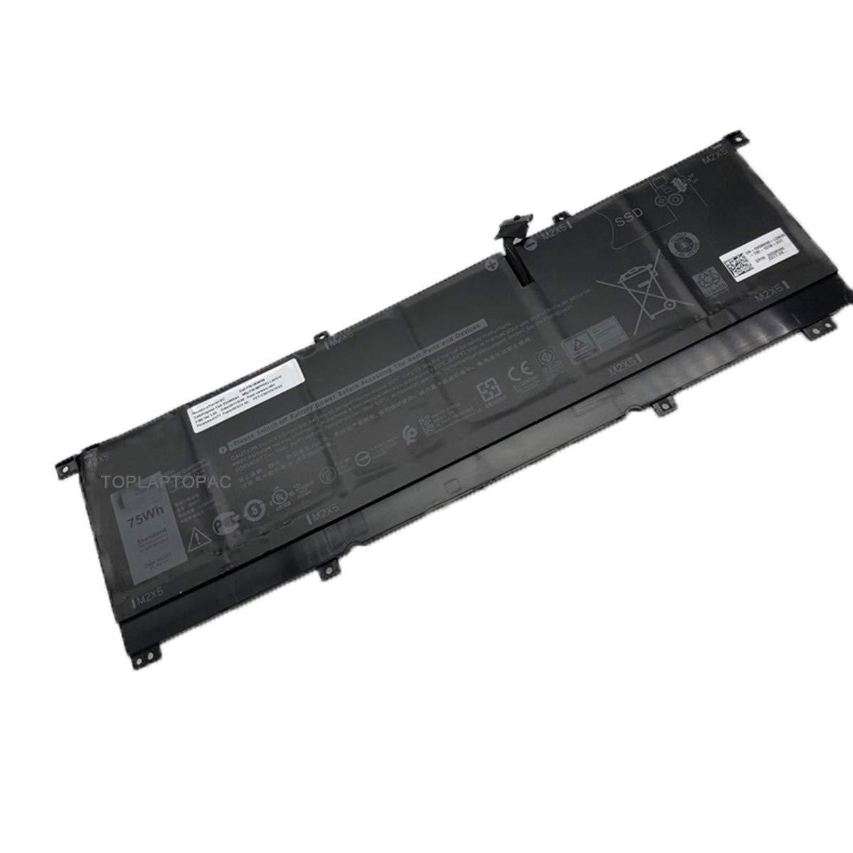 Bateria 8N0T7 TMFYT para Dell XPS 15 9575 Series 11.4V 75Wh