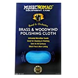MusicNomad Brass and Woodwind Premium Microfiber Polishing Cloth