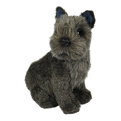 Schnauzer Puppy by Piutrè - Handmade Plush Stuffed Animal (Miniature Toys Stuffed)