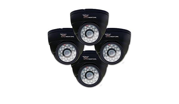 NIGHT OWL CAM-4PK-DM624-BA CCTV security camera Interior Almohadilla Negro: Amazon.es: Electrónica