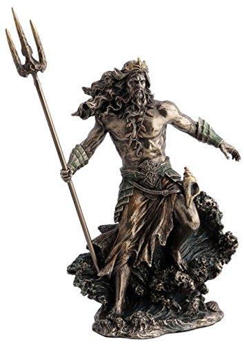 tridente poseidone  Poseidone, Dio del Mare Greco, romano Dio Nettuno con tridente 31 cm ...
