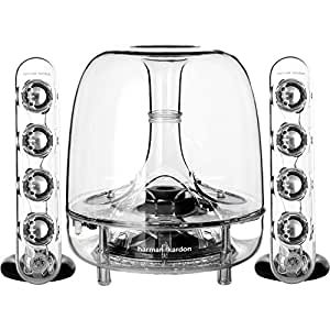 Harman Kardon SoundSticks Wireless Bluetooth Enabled 2.1 Speaker System