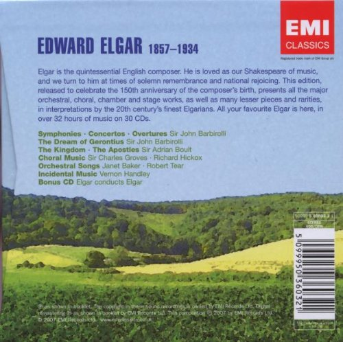 Elgar: The Collector's Edition (30 CDs) by Warner Classics