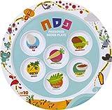Children's Passover Melamine Seder Plate 10 Plagues