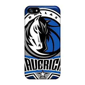 Hot Tpu Covers Cases For Iphone/ 5/5s Cases Covers Skin - Dallas Mavericks