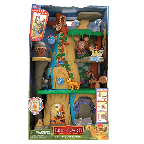 Battle Kings Playset - Just Play Lion Guard Training Lair Playset