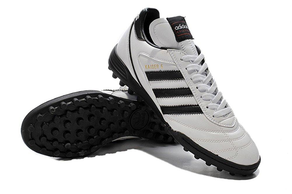 Demonry Schuhe Herren Fußball Kaiser 5 TF weiß Fußball Stiefel