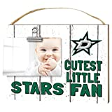"KH Sports Fan 1001101648 10""x8"" Dallas Stars Clip It Weathered Baby Logo NHL Photo Frame"
