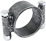 Allstar ALL60145 1-3/4'' Wide Steel 2-Bolt Design Clamp-On Ring for 3'' Axle Tube