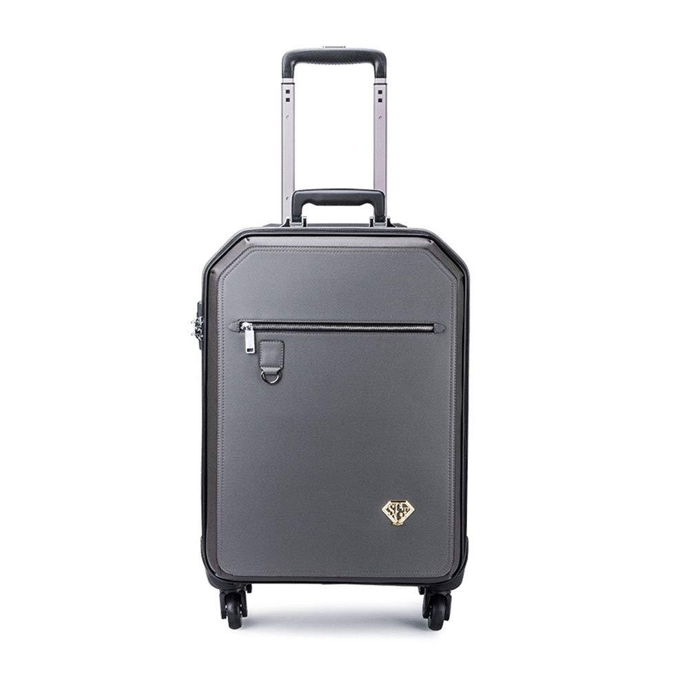 スーツケースビジネスローリング荷物トラベルスーツケーススピナーホイールで運ぶTSAロックトロリーメンズ女性10 20 22インチ 20inch  B07LH22TR7