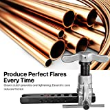 Flexzion Flaring Tools Set Tubing Pipe 8 Dies Sizes