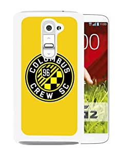 Unique And Popular LG G2 Case ,Columbus Crew 13 White LG G2 Screen Cover Beautiful Designed