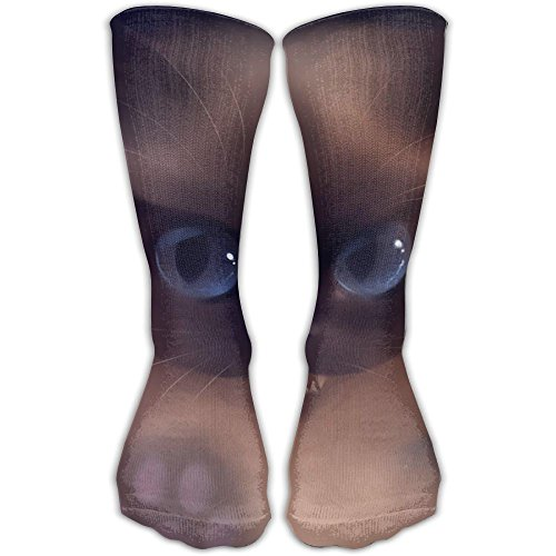 Women's Men's Classics Socks Cat Baby Kitten Artwork Art Wallpaper Athletic Stockings 30cm Long Sock One Size