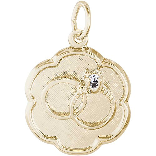 Rembrandt Charms Rings Charm, 10K Yellow (Rembrandt 10k Ring)