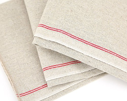 Bakers Couche - Professional Flax Linen Proofing Cloth 28 x 36 Breadtopia SYNCHKG049970
