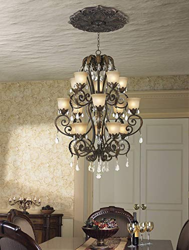 Classic Roman Bronze 24'' Wide Ceiling Medallion by Universal Lighting and Decor (Image #1)