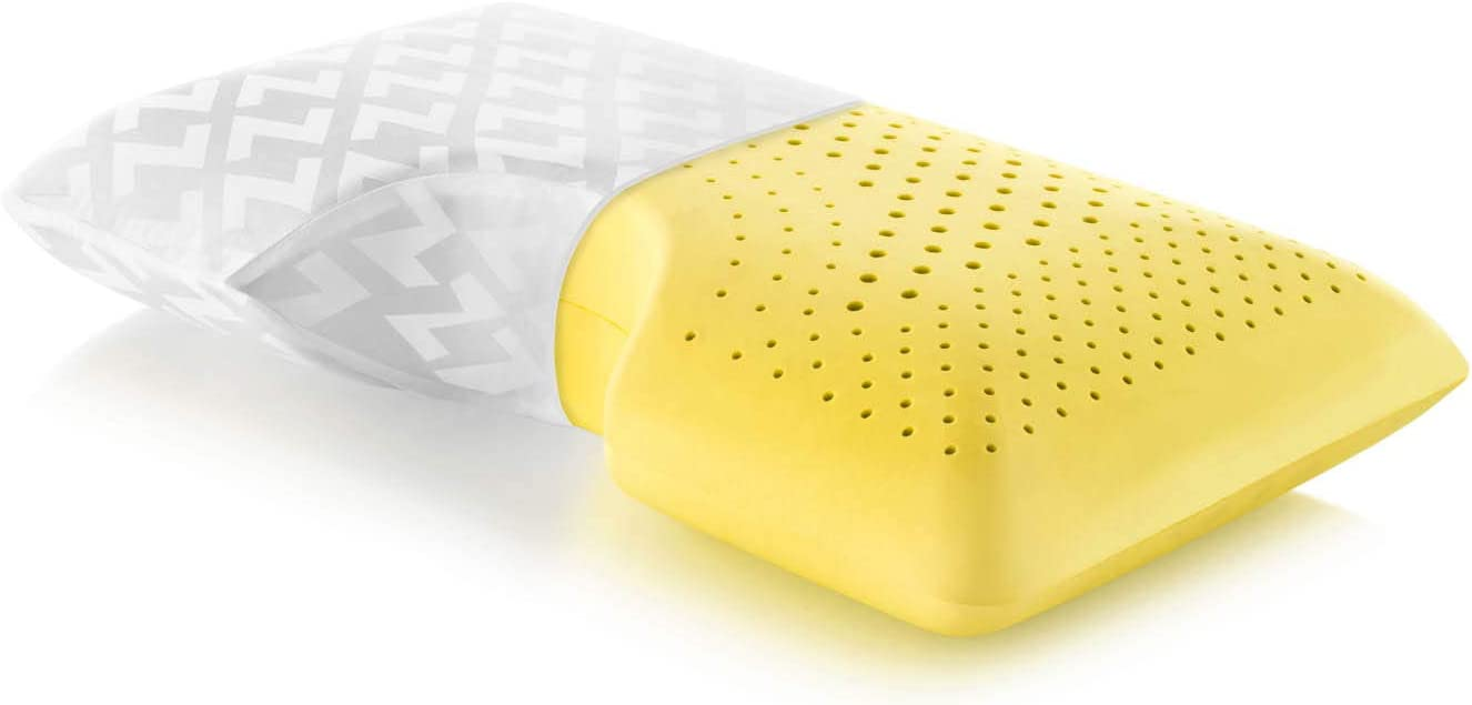 Travel Neck Aromatherapy Pillow Z Zoned Dough Memory Foam Pillow Infused with Real Lavender Essential Oil