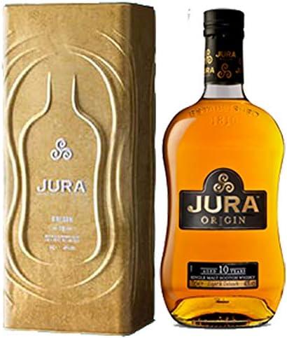 Jura Origin 10Y Whisky de Malta Escocés con Estuche Metálico - 700 ml: Amazon.es: Alimentación y bebidas