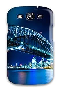 Tpu Case Cover Compatible For Galaxy S3/ Hot Case/ Sydney Harbour Bridge