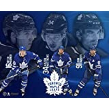 Frameworth Toronto Maple Leafs 16x20 Plaque 4-Player Collage Marner-Matthews-Tavares-Rielly, N/A, Black