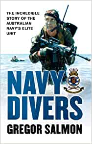Royal Navy ships diver