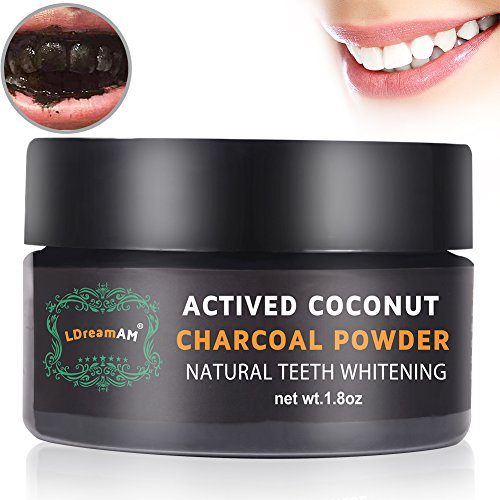 Teeth Whitening,Teeth Charcoal Whitening,Activated Charcoal Powder,Teeth Whitening Powder- With Organic Coconut Activated Charcoal for Stronger Healthy Whiter Teeth. No need for Strips, Kits or Gel.