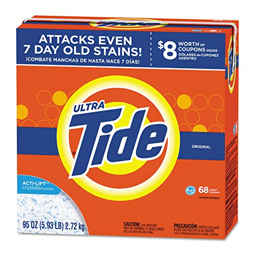 Tide PGC 84997 HE Laundry Detergent, Original Scent, Powder, 95 oz. Box (Pack of 3)