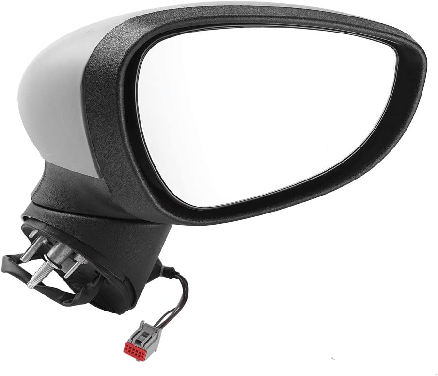 Wing Mirror Fiesta Electric Complete Wing Door Mirror Rear View Mirror for Fiesta MK7 2008-2012 right driver side