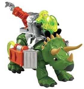 Fisher-Price Imaginext Dinosaurio Triceratops Altura