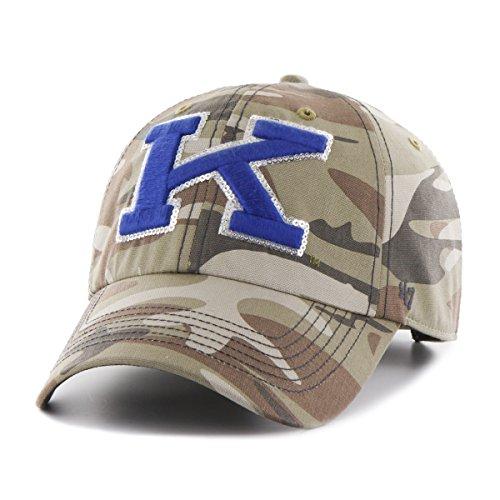 Sparkle Camo ('47 NCAA Kentucky Wildcats Women's Sparkle Camo Clean Up Hat, Women's, Faded Camo)
