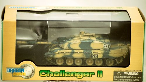 Dragon Armor - 2004 - Challenger II - Royal Army Tank - BATUS - Canada - Rare - Die Cast - Display Case - 1:72 Scale - Limited Edition - Collectible