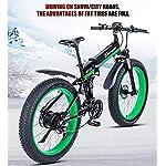51CEt2vo4mL. SS150 Drohneks Bicicletta elettrica ebike 48V1000W Bici elettrica da Montagna Bici elettrica Pieghevole 4.0 Pneumatico Grasso…