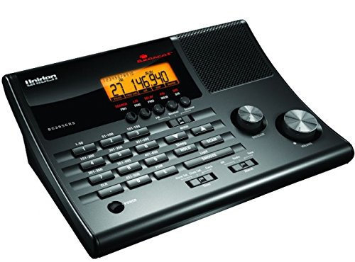 Uniden BC365CRS 500 Channel Clock/FM Radio Scanner with Weat