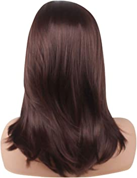 Tonsee Mode Charme Femme Perruques De Cheveux Synthetiques Full
