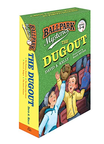 Series Boys (Ballpark Mysteries: The Dugout boxed set (books 1-4))