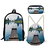 Best River's Edge Products String Lights - iPrint Schoolbag,Pencil Box,Drawstring Bag,Backpacks,3D Print,Bamboo Port The River Review